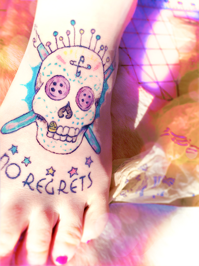 No Regrets Tattoo